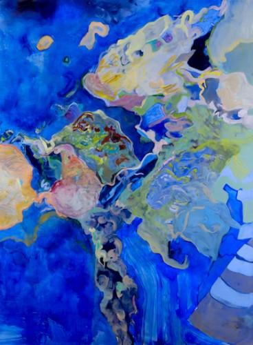 Maija Lassila: Continent of Colours -näyttely